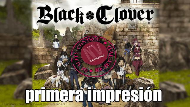 recomendacion anime black clover