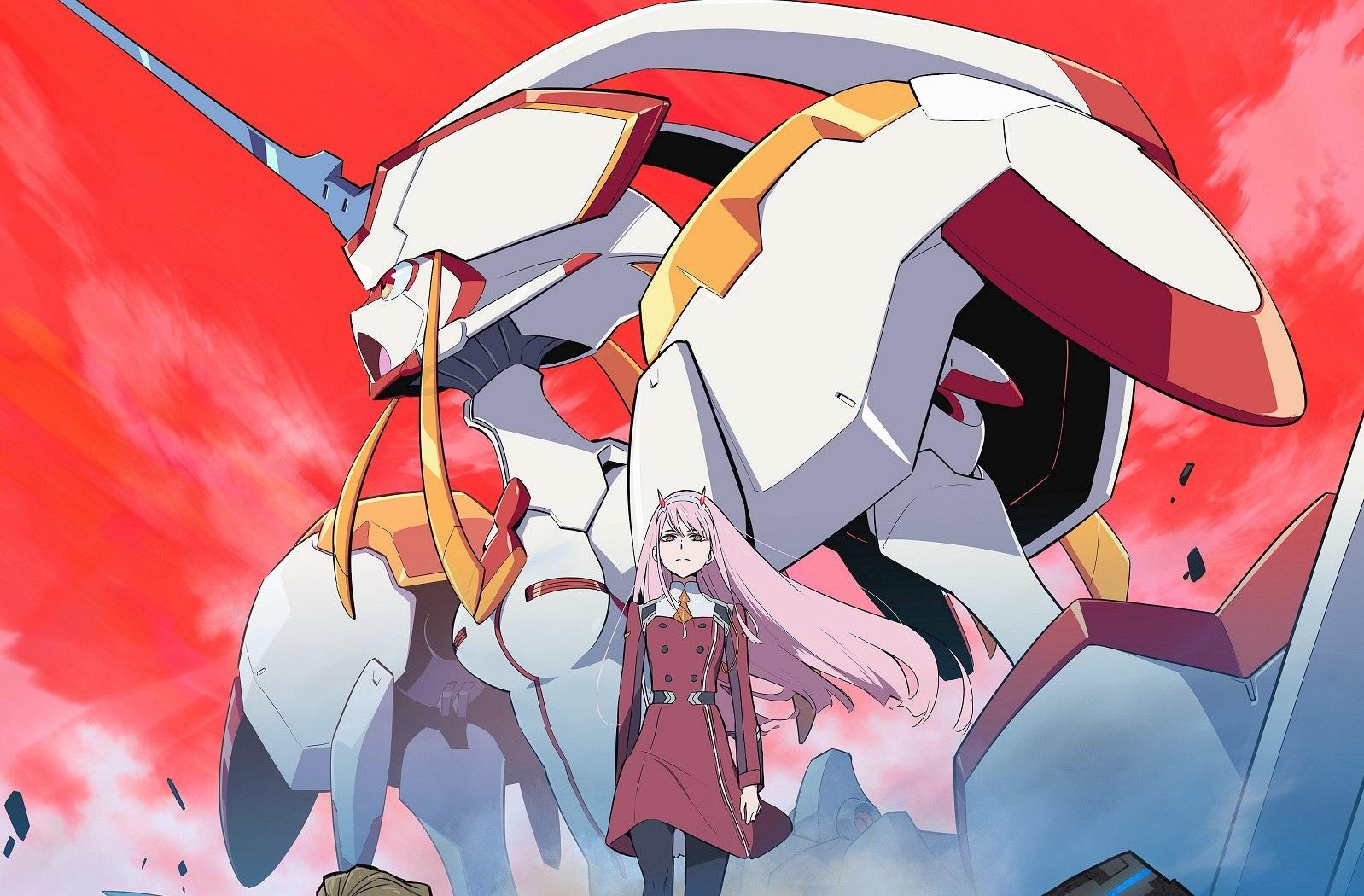Darling in the FranXX anime wallpaper hd