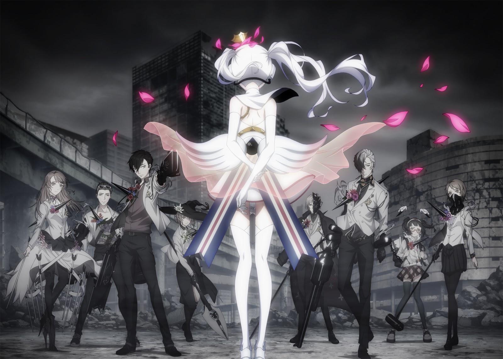 Caligula anime wallpaper hd