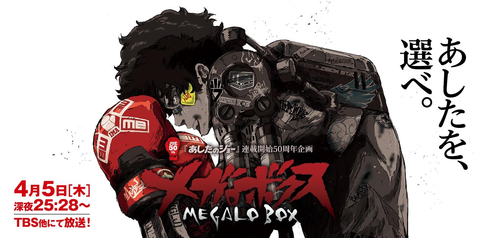 Megalo Box anime wallpaper hd