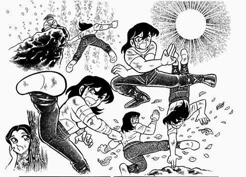 Saint Seiya manga wallpaper