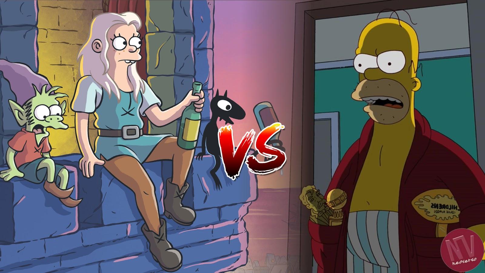 Desencanto vs Los Simpson
