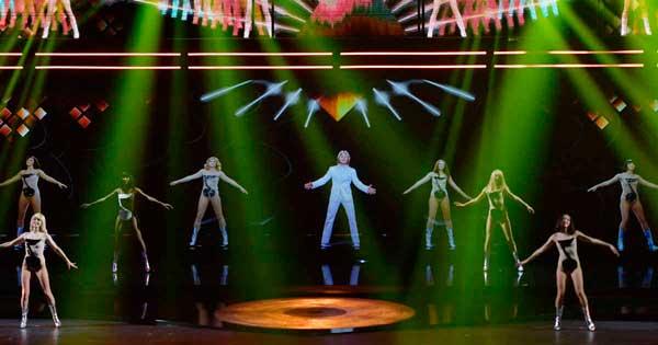 concierto con hologramas